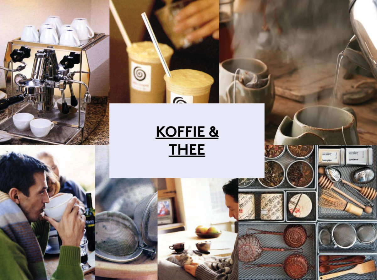 AH moodboard koffie & thee