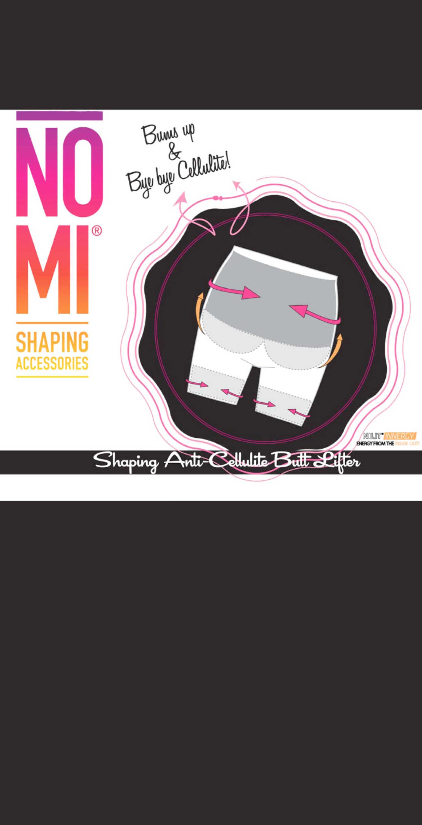 NO-MI shaping accessoires anti-cellulite butt lifter