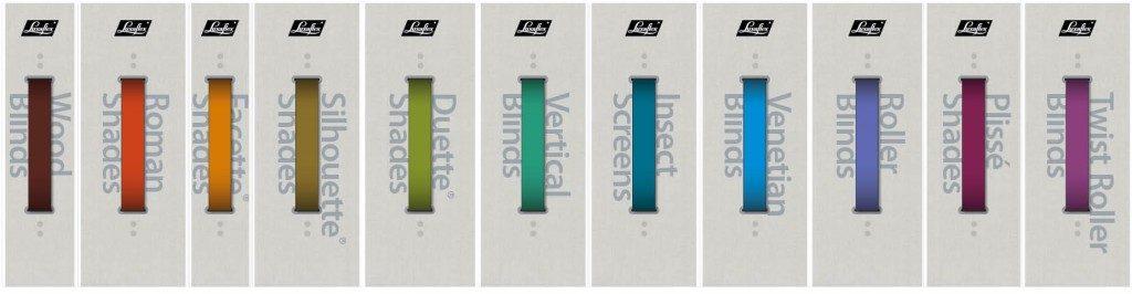 Luxaflex assortiment concept