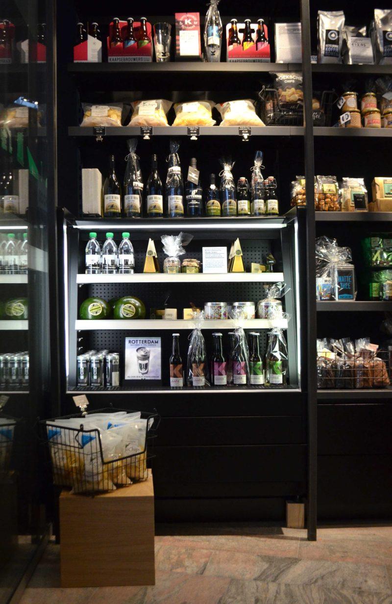 Rotterdam CS shop schap en koeling