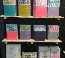 Toeristen Spullen inspiratie, Glitter Notebooks