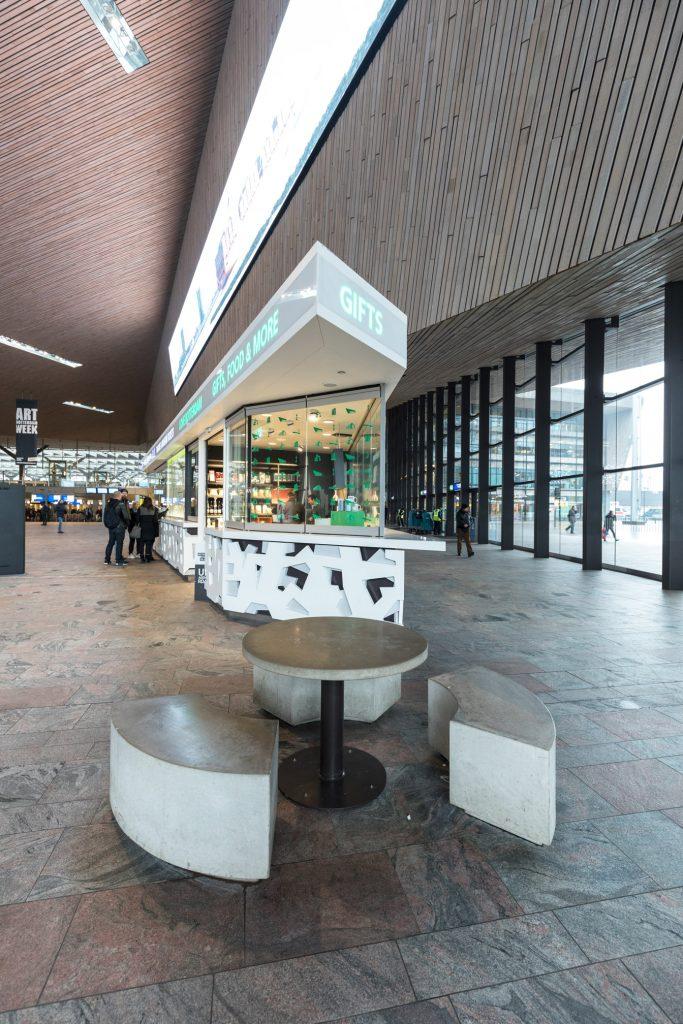 Voor Rotterdam Partners ontwikkelde BIEN innovation 2 nieuwe winkels op Centraal Station en op de Coolsingel