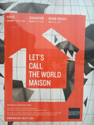 Maison & Objet poster