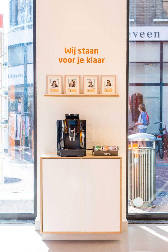 Koffiecorner D-Reizen winkel
