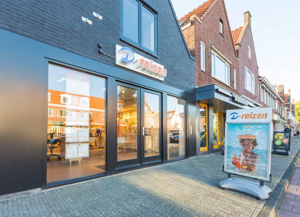 Gevelsigning D-Reizen Volendam