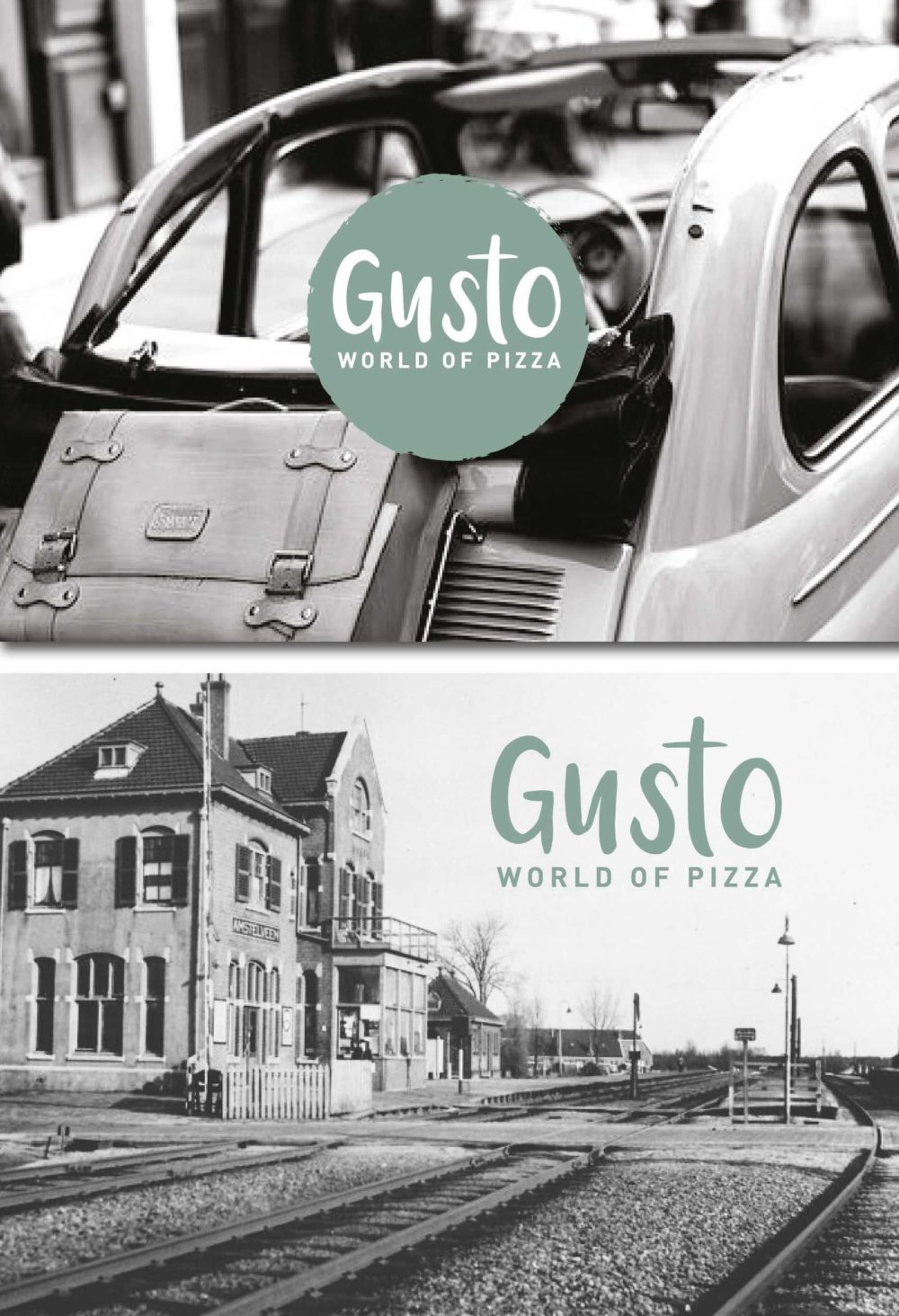 Ansichtkaarten Gusto World of Pizza