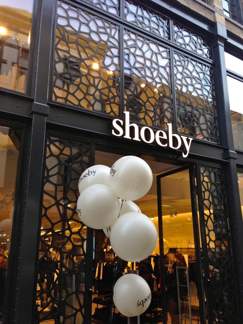 Shoeby concept store gevel Den Haag