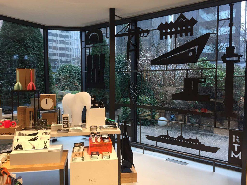 Rotterdam Tourist Shop, Coolsingel, Icon frame