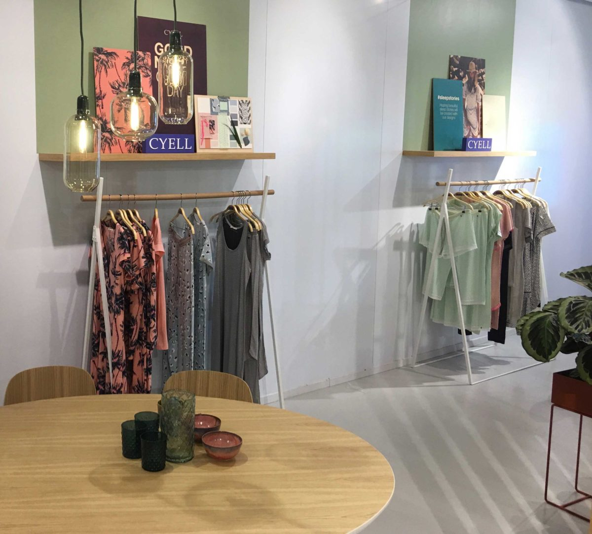 Cyell showroom overview daywear