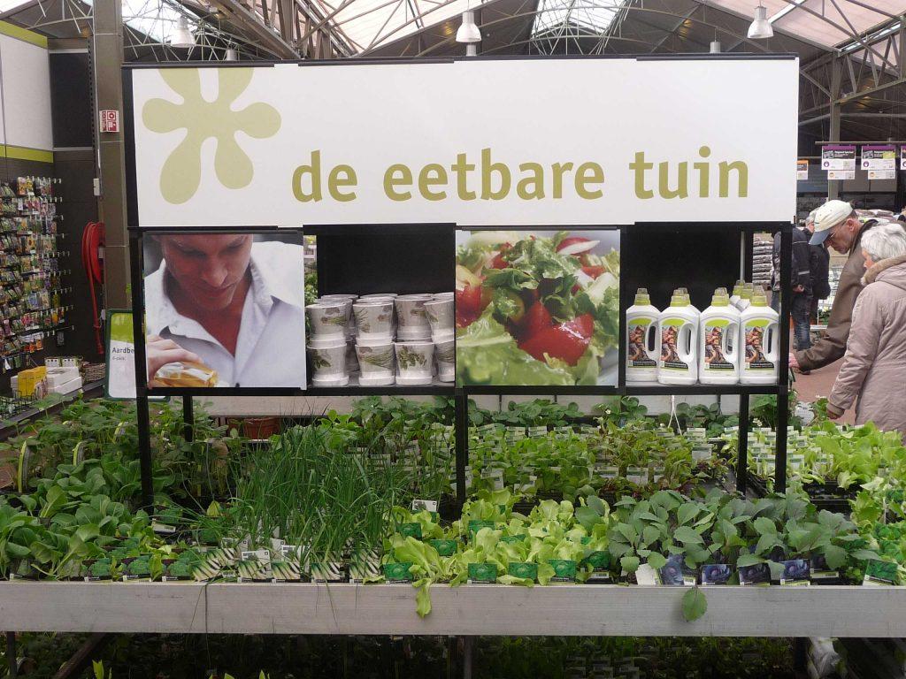 Intratuin, de eetbare tuin
