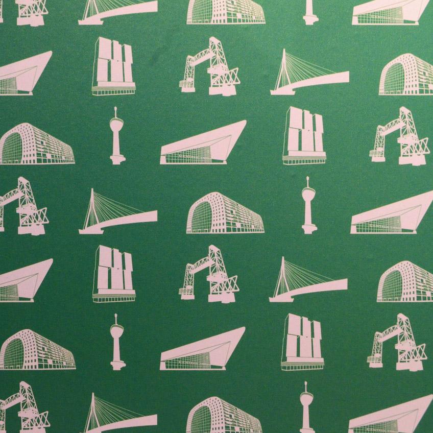 Rotterdam Wallpaper Wuudy x BIEN