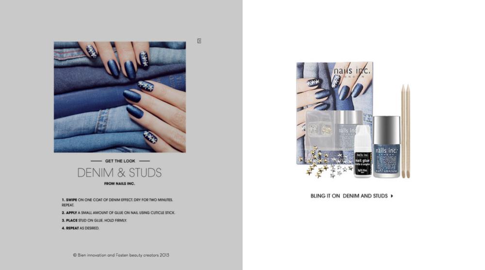 Etos beauty moodboard nails