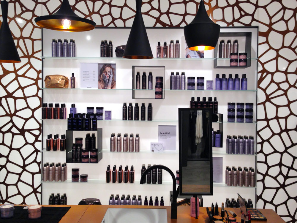 Eksept beauty collection by Shoeby wandpresentatie