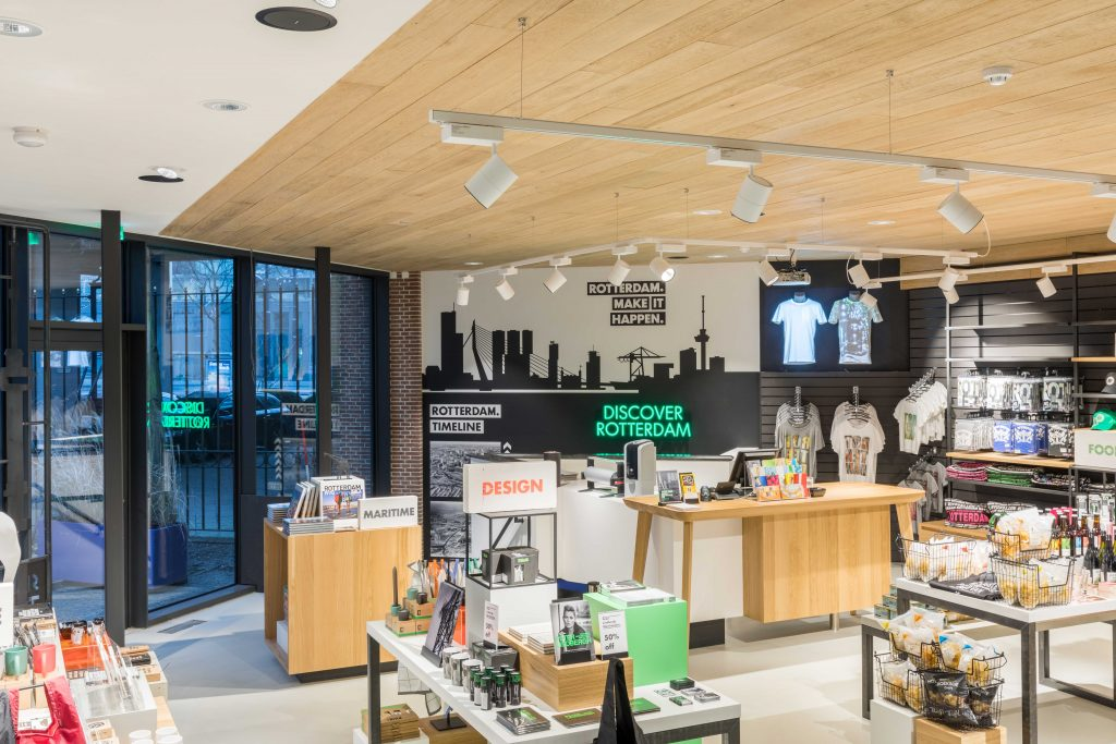 Discover Rotterdam, Retaildesign, Retailconcept, Shop, Citymarketing, Design