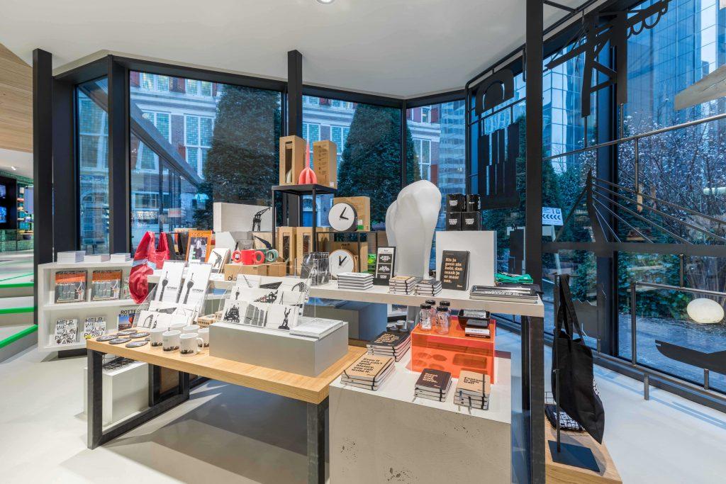 presentatietafel, visual merchandise,
