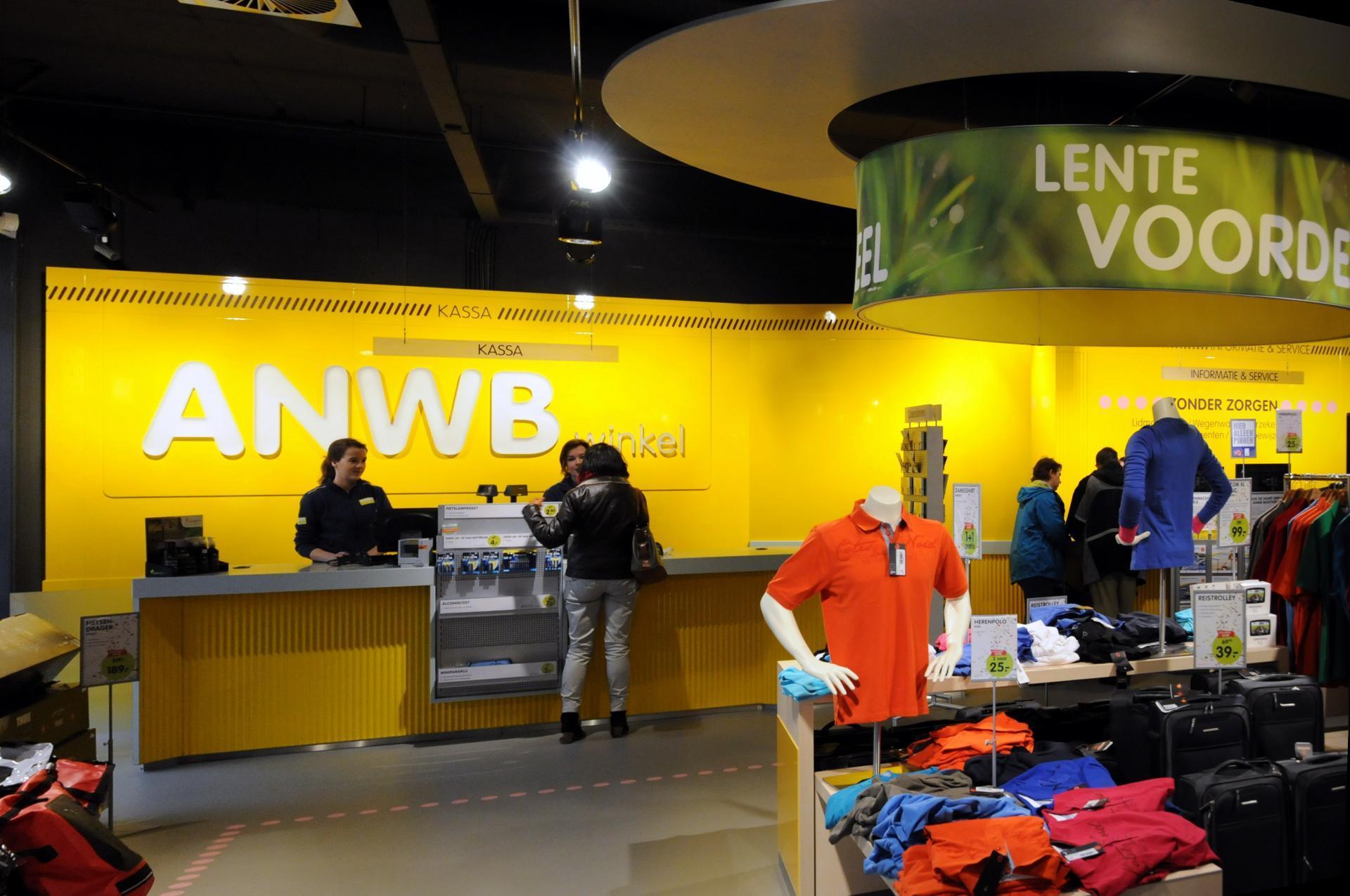 ANWB winkel interieur
