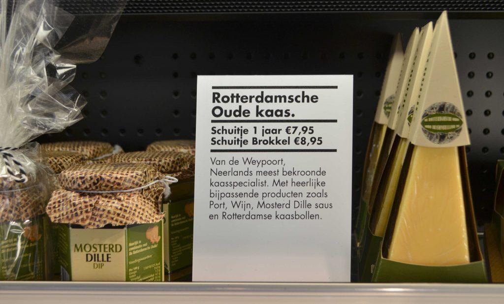 Rotterdam Tourist Shop food signing