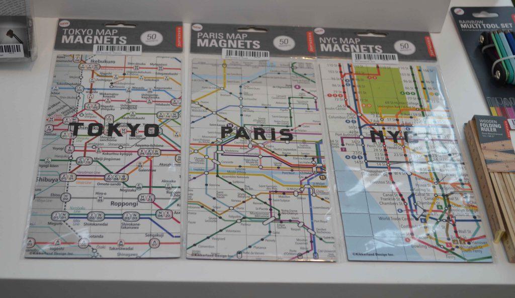 Toeristen Spullen inspiratie, New York map