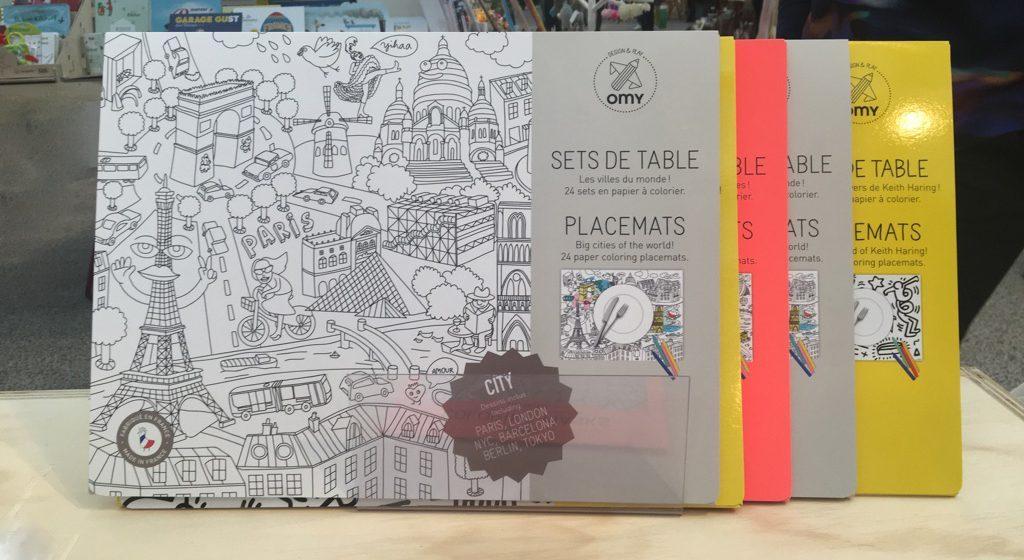 Toeristen Spullen inspiratie, City Placemats