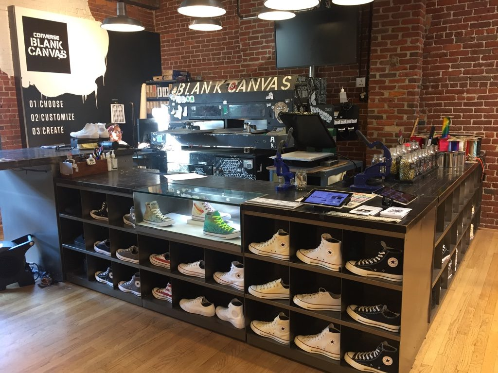 Counter, Converse retail inspiration, Boston