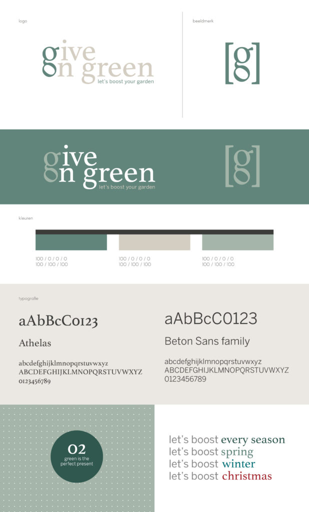 Give On Green_Styleguide